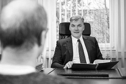 Mandantengespräch Verkehrsrecht mit Rechtsanwalt Dr. Volker Heise